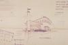 Rue des Palais Outre-Ponts 347, vue en perspective de la station-service© AVB/TP 65601 (1956)