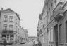Rue Princesse Clémentine, vue depuis la rue du Champ de l'Église en 1971© (© KIK-IRPA Bruxelles)