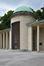 Square du Vingt-et-un-juillet, mausolée de la reine Astrid, vue de la rotonde, 2017