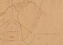 Projet de prolongement de la rue de la Loi et de création des futures avenues Eugène Plasky et d'Auderghem, détail du plan dressé en 1850 par Félix Dubois et le Hardy de Beaulieu© AVB/PP 1521