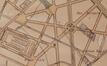 Verlenging van de toekomstige Victor Hugostraat tot aan de Roodebeeklaan, detail uit Plan des transformations de la commune de Schaerbeek, door O. HOUSSA, 1903 © (Kunstenhuis van Schaarbeek/lokaal fonds)