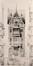 Maison In de Windwyser, projet de façade des architectes Van Massenhove et Low, primé au Concours de 1897 mais non réalisé© (VAN MASSENHOVE, H., LOW, G., Les Maisons Modernes, Livraison II, éditeur Constant Baune, Bruxelles, 1901, pl. XVII)