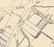 Dernier tronçon de la rue Gallait, détail du plan Bruxelles et ses environs, Institut cartographique militaire, 1881© (Gallica.bnf.fr / Bibliothèque nationale de France, GE C-1637)