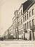 Vue du côté impair de la rue d'Aerschot, aujourd'hui démoli, avec l'ancienne école communale no 4© (Collection Dexia Banque-ARB-RBC)