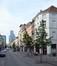 Brabantstraat, zicht op de onpare zijde vanaf het Liedtsplein, 2014