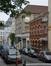 Rue Cornet de Grez, vue du côté impair depuis la chaussée de Haecht, 2014