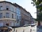 Rue Gendebien, vue du côté impair depuis la place Gaucheret, 2016