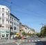 Rue des Palais, vue du côté pair depuis la place Liedts, 2014