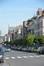 Rue des Palais, vue du côté impair depuis la place Liedts, 2014