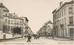 Rue des Palais, vue depuis la rue de la Poste, (Collection Dexia Banque-ARB-RBC)
