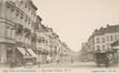 Rue des Palais, vue depuis la place Liedts vers Laeken, (Collection Dexia Banque-ARB-RBC)