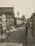 Rue des Palais, vue depuis le chemin de fer vers l'église Sainte-Marie, (Collection Dexia Banque-ARB-RBC)