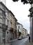 Rue de la Poste, vue vers la rue des Palais, 2014
