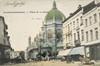 Vue de la place de la Reine depuis la chaussée de Haecht© (Collection Dexia Banque-ARB-RBC)