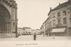 Vue de la place de la Reine vers la chaussée de Haecht© (Collection Dexia Banque-ARB-RBC)