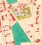 Detail uit  Plan de la commune de Schaerbeek 1870, met zicht op de Kesselsstraat© (Nationaal Geografisch Instituut)