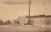 Avenue Paul Deschanel, vue du début du côté impair avec, à l'avant-plan, le mât électrique de Jacques De Lalaing, (Maison des Arts de Schaerbeek/fonds local)