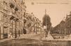 Vue de l'avenue Rogier côté pair, depuis la place des Bienfaiteurs vers l'est, (Collection Dexia Banque-ARB-RBC)
