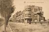 Vue de l'avenue Rogier côté pair, depuis la rue des Pavots vers la place de la Patrie, (Collection Dexia Banque-ARB-RBC)