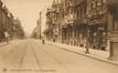 Vue de l'avenue Princesse Élisabeth avec, à droite, le premier tronçon côté pair© (Collection Dexia Banque-ARB-RBC)