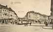 Vue de la place du Pavillon avec, à droite, le côté pair de la rue Van Oost© (Collection Dexia Banque-ARB-RBC)