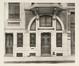 Rue Van Oost 64-64a, rez-de-chaussée avant transformations© (Vers l'Art, 9, 1906, pl. 54)