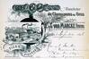Halve Maanstraat 14-16, afbeelding van het industrieel complex op briefhoofd, GASG/Urb. 248 (1896).