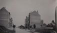 L'avenue Alexandre Bertrand en chantier, vue de l'avenue Jupiter, s.d. (1910)© Archives de la paroisse Saint-Augustin Forest, album classeur  Saint-Augustin, dossier 1