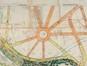 Projet d'aménagement du quartier des parcs et du quartier Saint-Augustin, détail de la place Altitude Cent et des huit artères environnantes, 1908© ACF/TP, dossier 45, A.R. du 08.02.1912