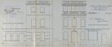 Maison de campagne d'Herman Bertrand, fin XIXe siècle, transformée en 1909© ACF/Urb. 4993 (1909)
