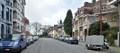 L'avenue Clémentine en direction de l'avenue des Villas, 2016