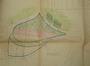 Plan du prolongement de l'avenue du Parc (en rose) et de la suppression d'une partie de l'avenue Clémentine (en jaune), 1912© ACF/TP 145 (fonds non classé).
