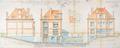 Avenue du Parc 156, élévation© ACF/Urb. 9745 (1928)