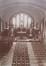 L'église Saint-Augustin provisoire, intérieur, s.d. (vers 1910)© Archives de la paroisse Saint-Augustin Forest,  Avenue Saint-Augustin