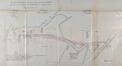 Plan d'alignement fixé par arrêté royal le 07.04.1881 organisant le côté nord de l'ancienne prairie et intégrant, dans sa prolongation, le redressement de l'ancienne Koyenstraat (chemin vicinal n°22) ou actuelle rue de la Station, ACF/TP Quartier du «Dries»