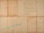 Plan général d'alignement et d'expropriation par zones, pour la création de deux rues entre la chaussée d'Alsemberg et le quartier dit « Berkendael », fixé par arrêté royal le 24.12.1904© ACF/TP (rue Vanden Corput).