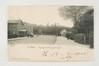 Vue sur les maisons d'ouvriers vers l'actuelle avenue  Gabriel Fauré, sd (ca.1900)© (coll. Belfius Banque © ARB-SPRB)