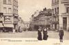 La chaussée de Louvain vue vers la place Saint-Josse, s.d. (Collection de Dexia Banque).