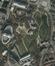 Photo aérienne du Parc Léopold avec indications des bâtiments remarquables., 2012