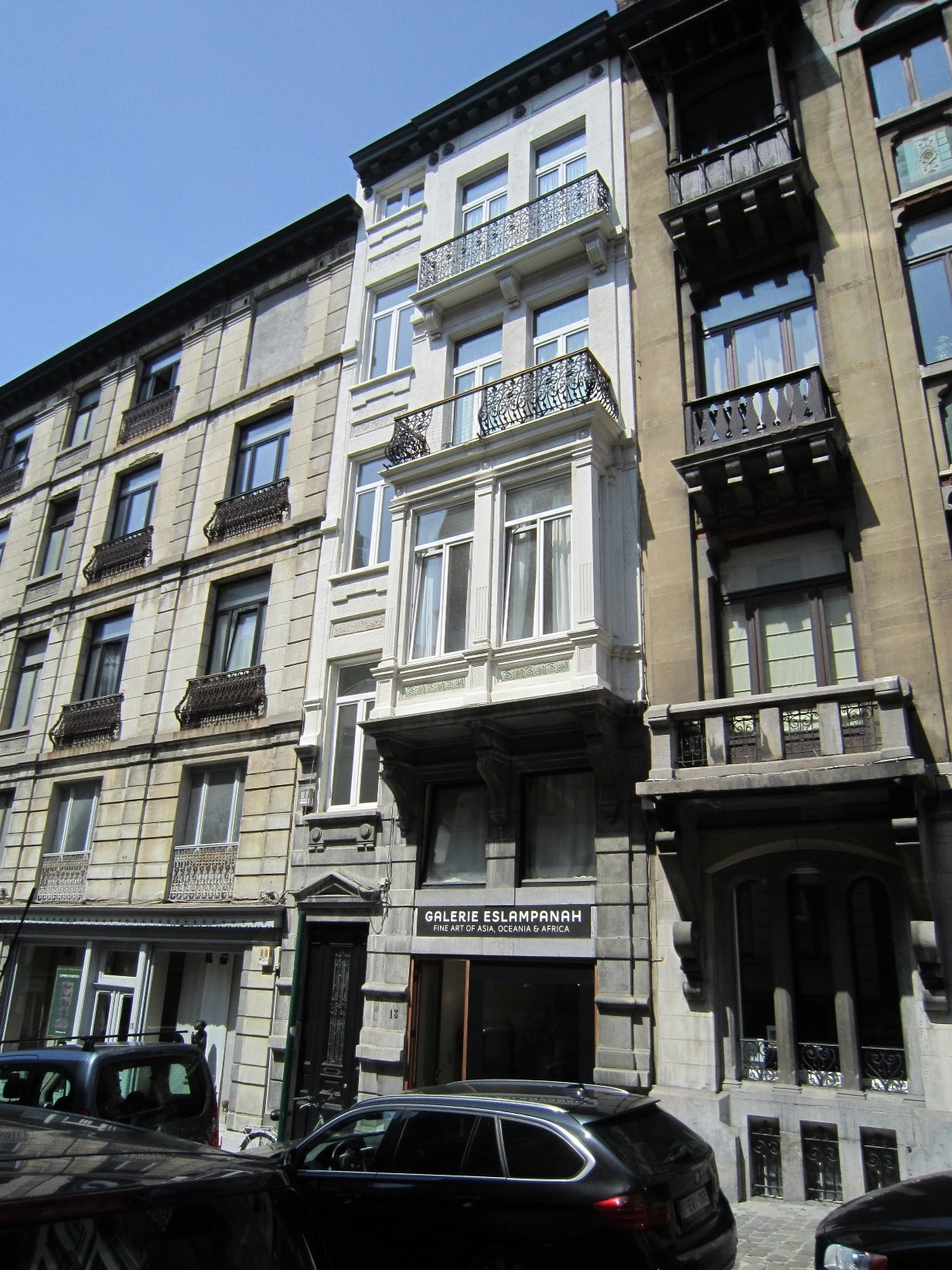 Rue Charles Hanssens 13, 2015