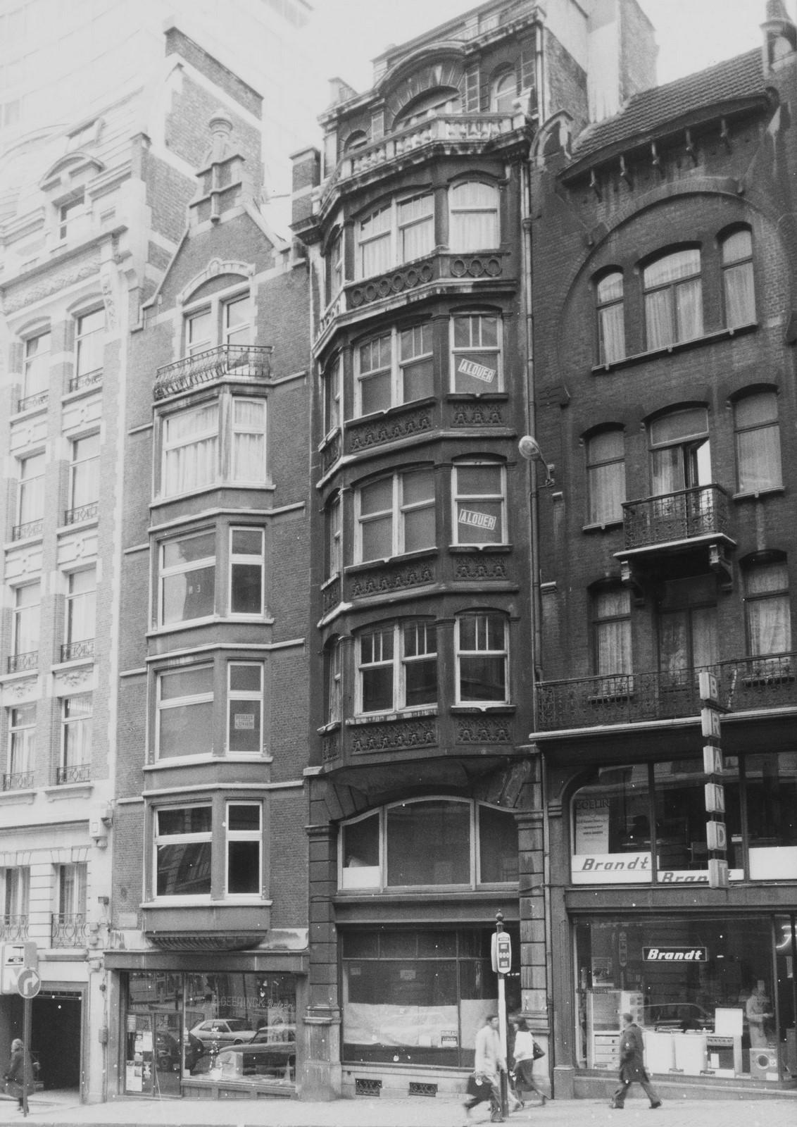 rue des Colonies 10., 1980