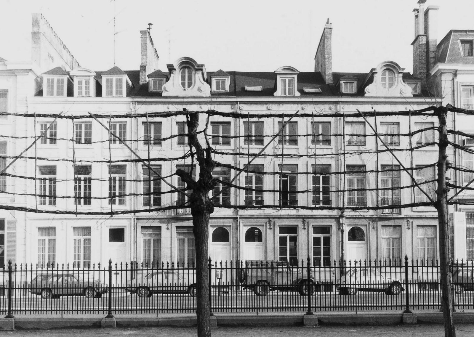 rue Ducale 25, 27, 29 et 31., 1981