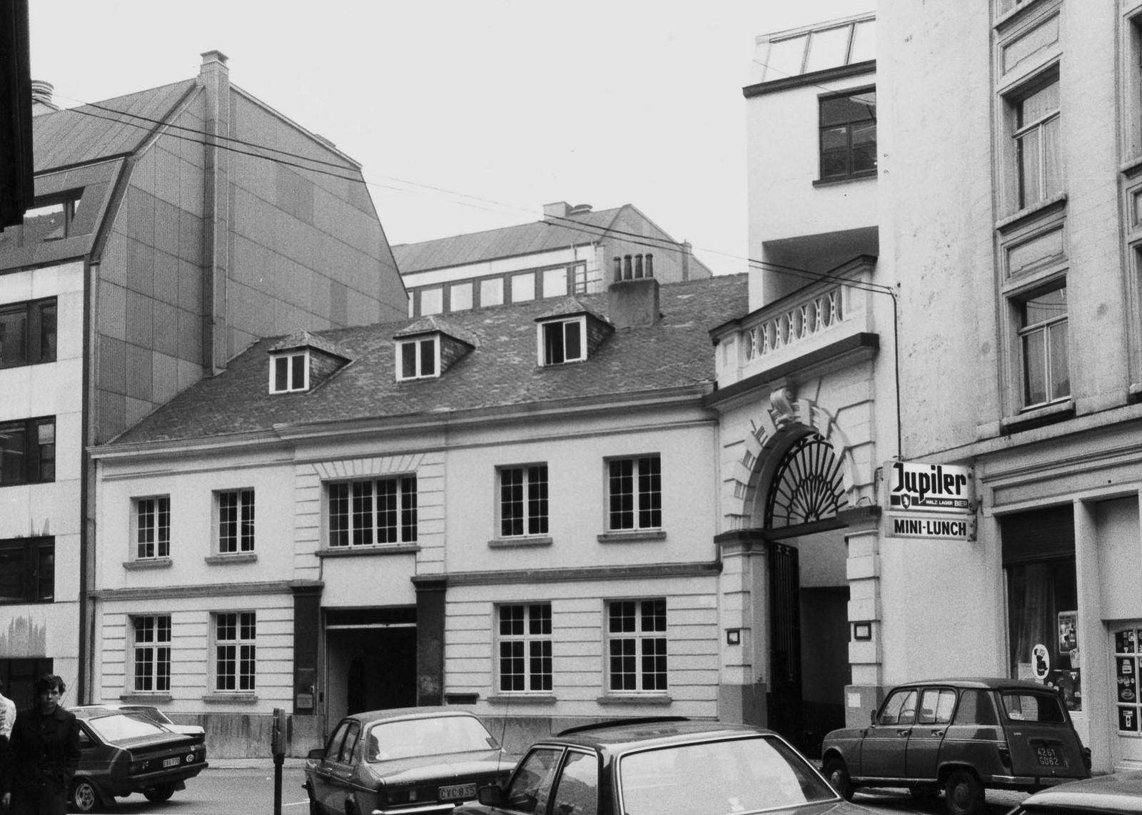 rue Ducale 83, 81., 1981