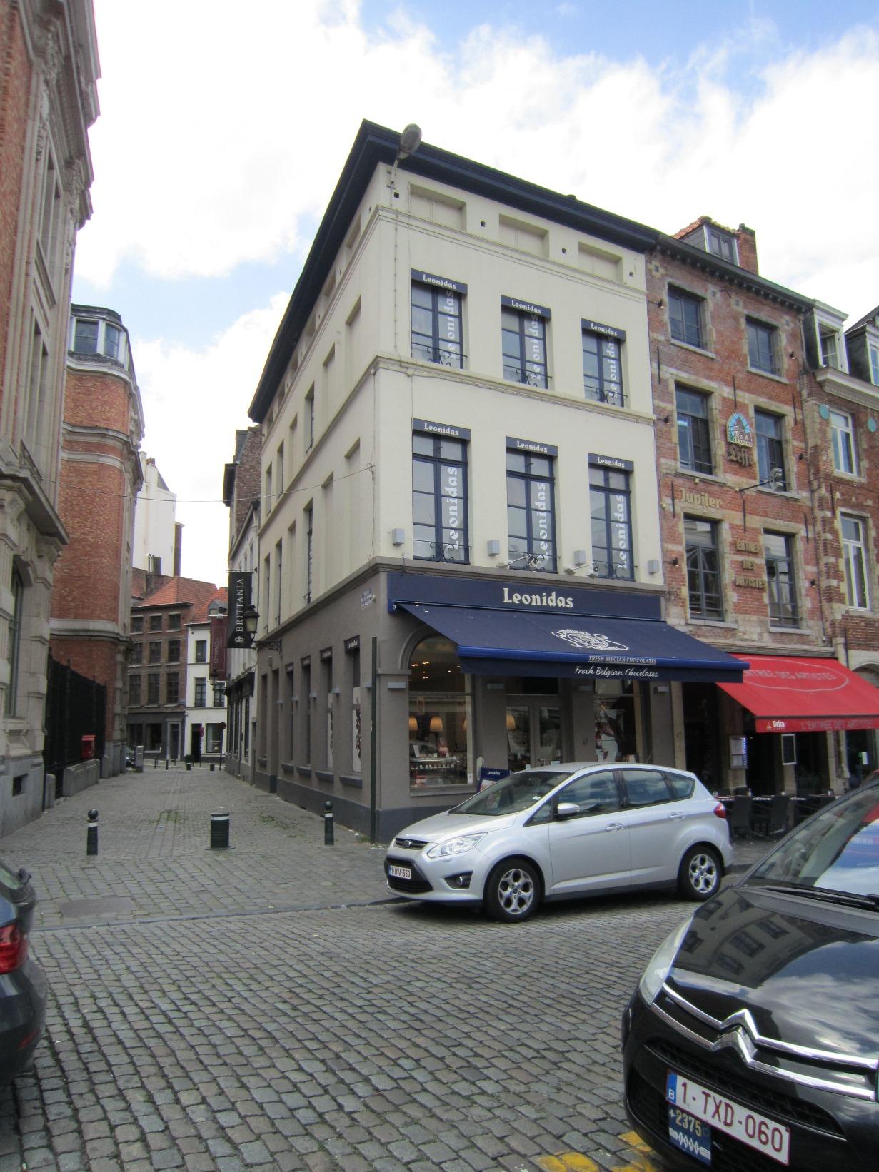 Place du Grand Sablon 41 - petite rue des Minimes 1, 2015