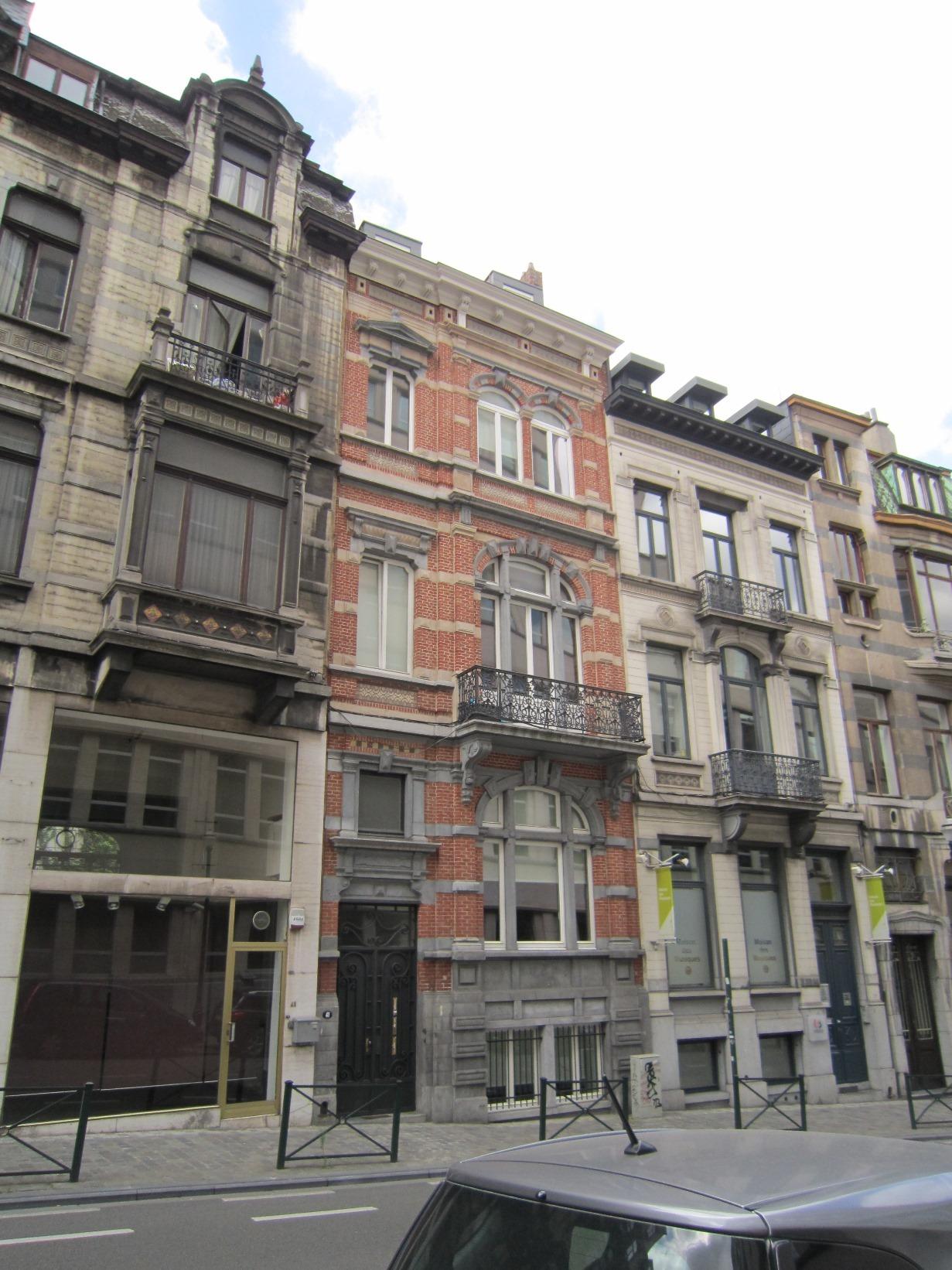 Rue Lebeau 41, 2015
