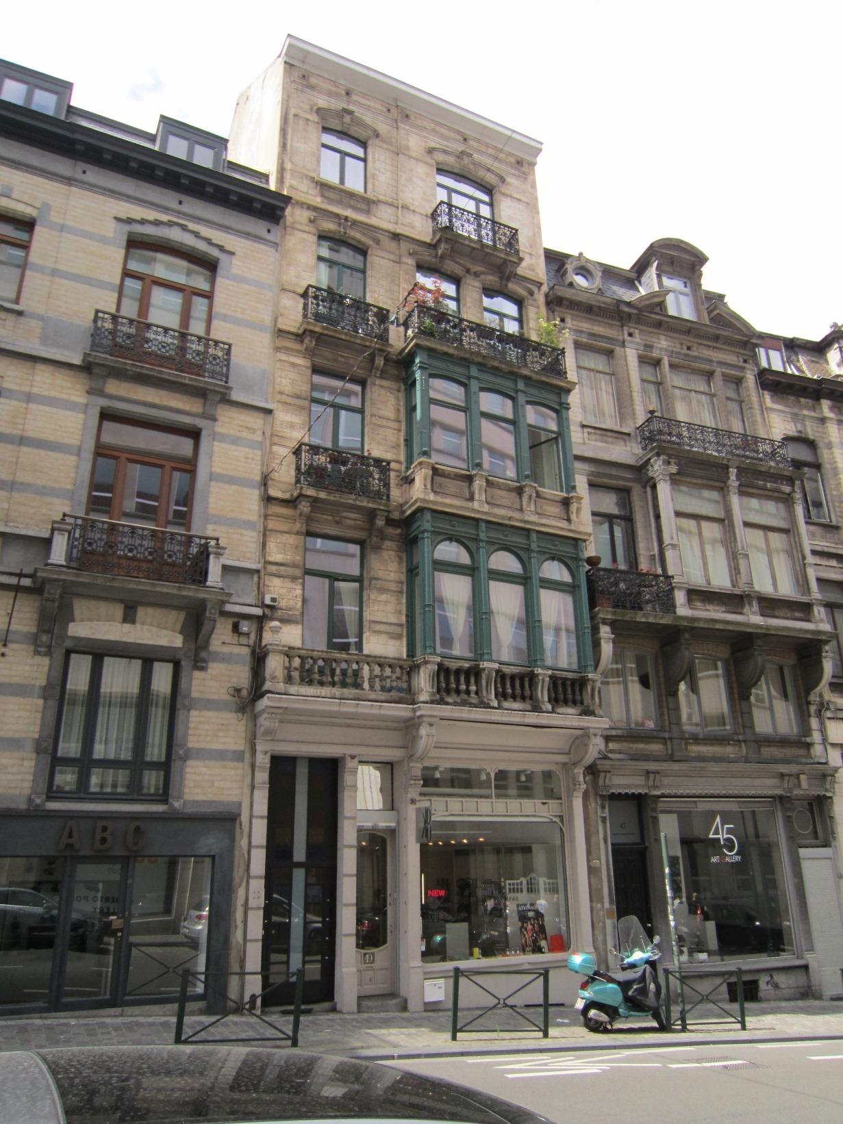 Rue Lebeau 49, 2015