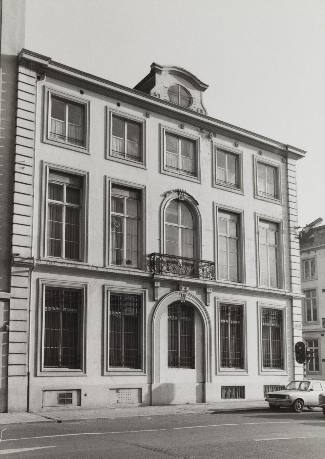 rue de la Loi 18, angle rue Ducale 55., 1981