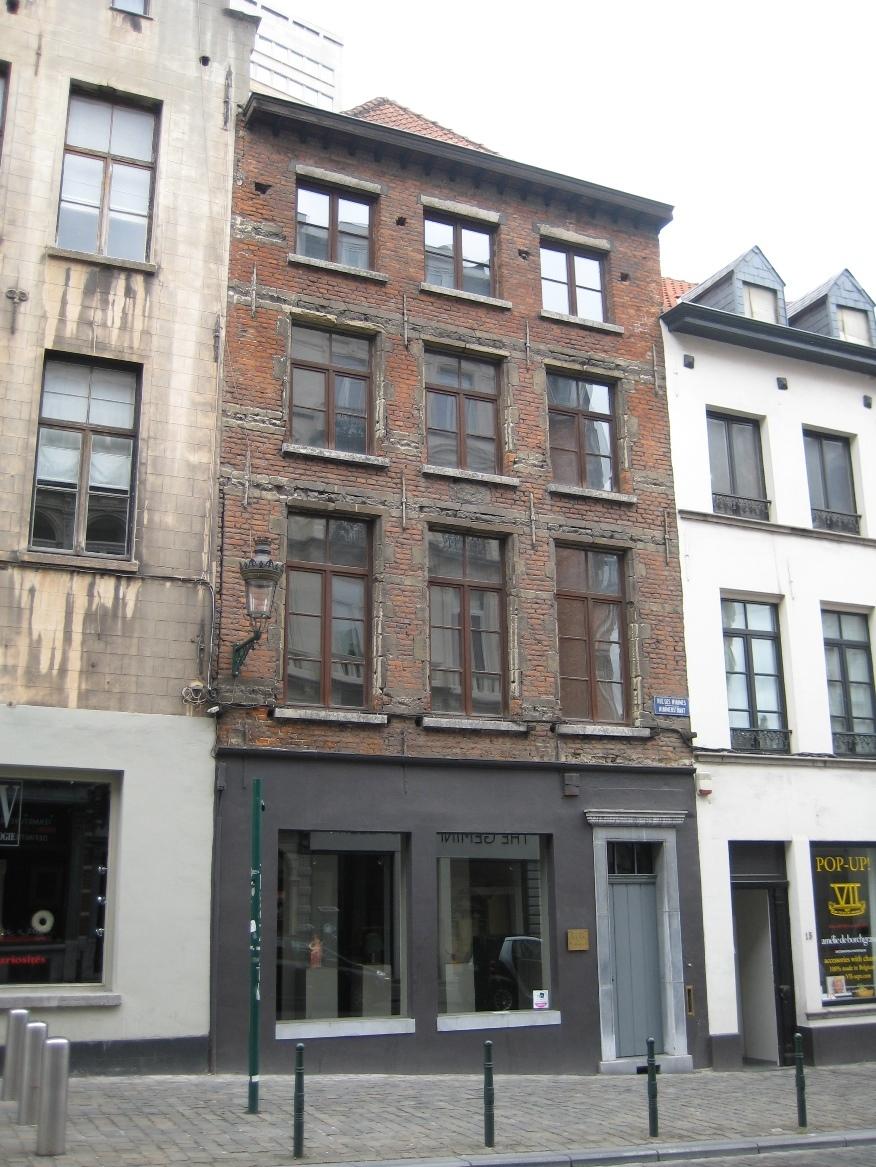 Rue des Minimes 17, 2015
