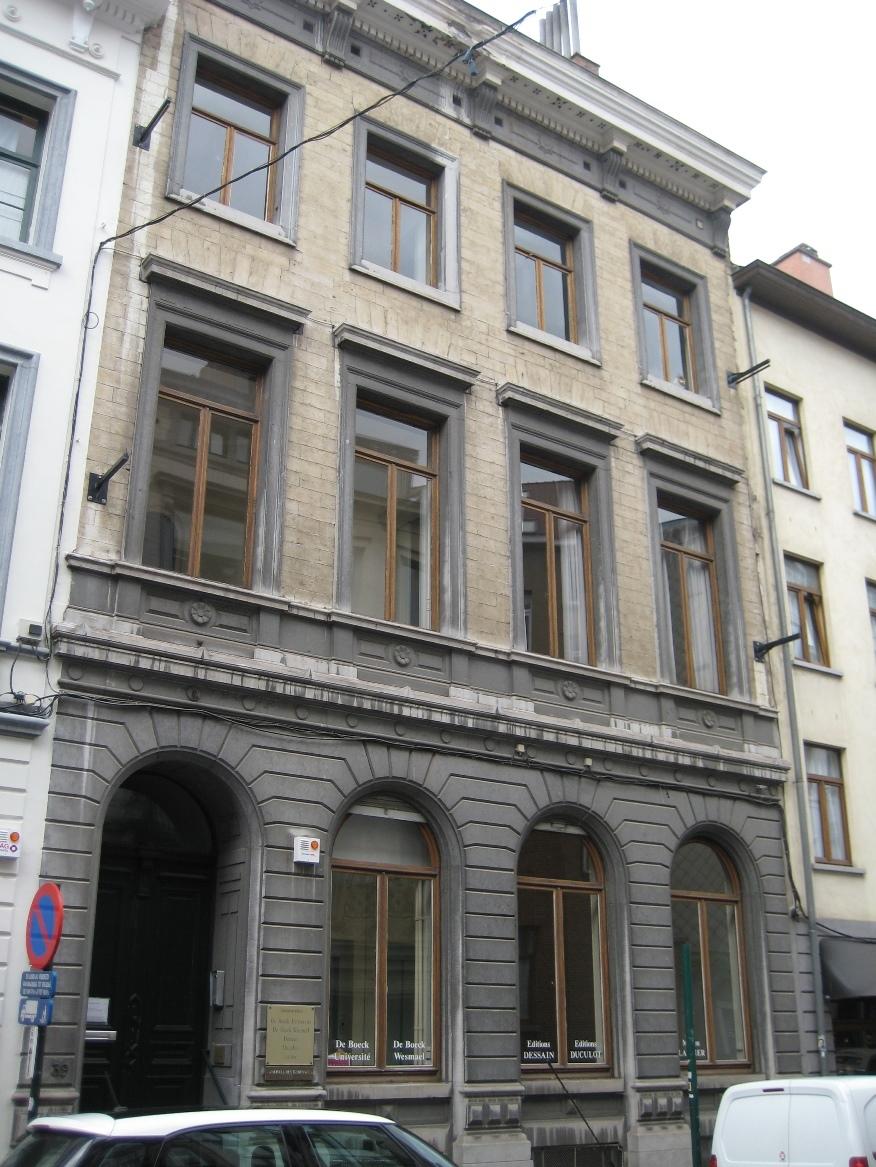 Rue des Minimes 39, 2015