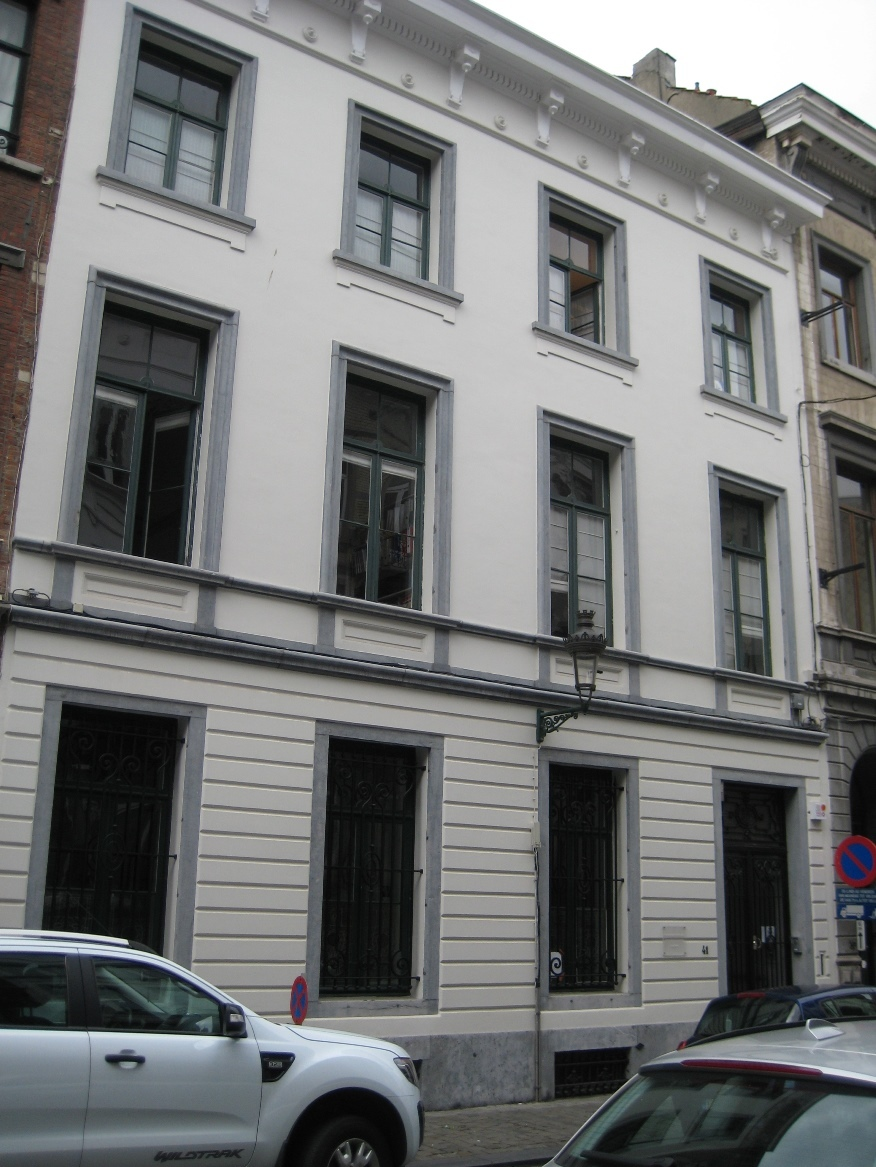Rue des Minimes 41, 2015